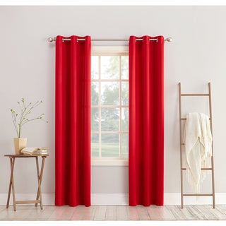 Red Curtains Amp Drapes For Less Overstock Com