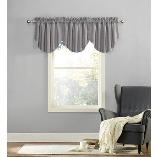No. 918 Orsay Jacquard Damask Rod Pocket Curtain Valance