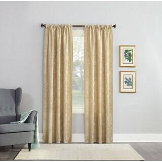 No. 918 Armand Jacquard Damask Rod Pocket Curtain Panel