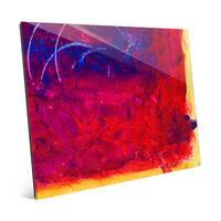'Squadra' Glass Wall Art Print