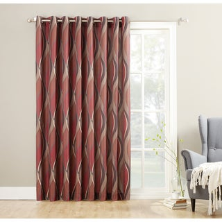 Curtains Ideas curtains double width : Double Wide Grommet Curtain Panels - Curtains Design Gallery