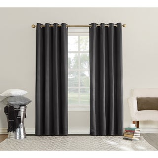 Sun Zero Emden Room Darkening Triple Lined Grommet Window Panel
