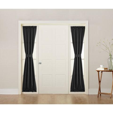 Sun Zero Galia Energy-efficient Sidelight Curtain Panel