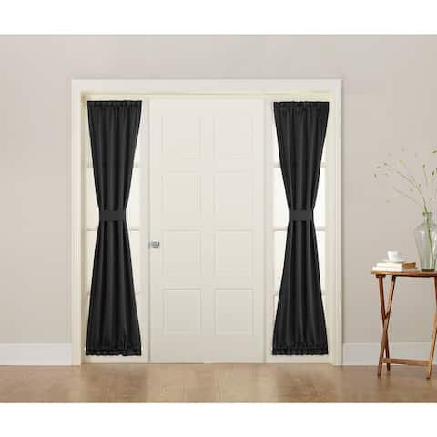 Porch & Den Nantahala Energy-efficient Sidelight Curtain Panel