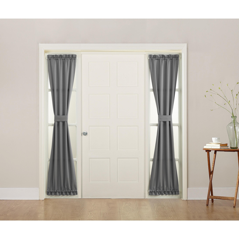 Sun Zero Galia Energy-efficient Sidelight Curtain Panel (...