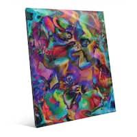 'Farfalle Part Two' Glass Wall Art