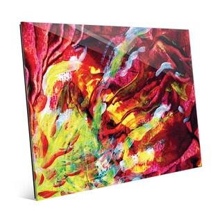 'Caverna' Glass Wall Art Print
