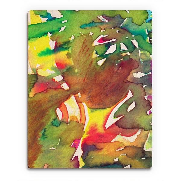 'Cera Una Volta Infondo Al Bosco' Wooden Wall Art Print