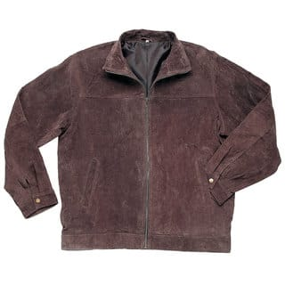 Roberto Amee Men's Big & Tall Brown Suede Jacket|https://ak1.ostkcdn.com/images/products/14155299/P20756825.jpg?impolicy=medium