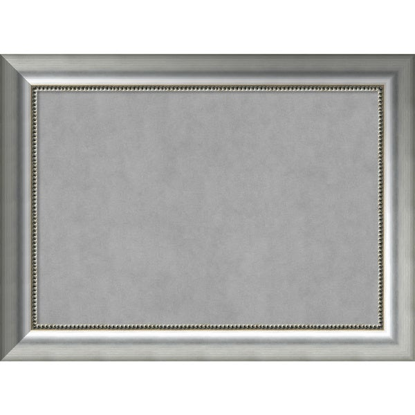 Framed Magnetic Board Choose Your Custom Size, Vegas Curved Silver ...