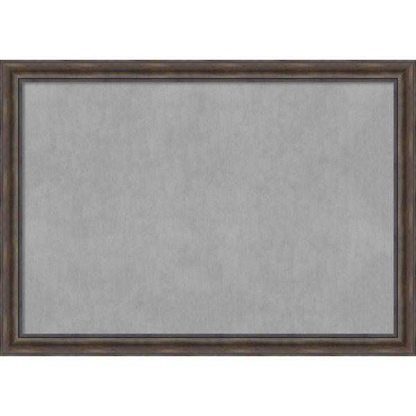 Framed Magnetic Board Choose Your Custom Size, Rustic Pine Wood