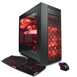 CyberPowerPC BattleBox Essential Liquid Cool Series GLC4200OS with Intel i7-7700K 4.2GHz Gaming Computer