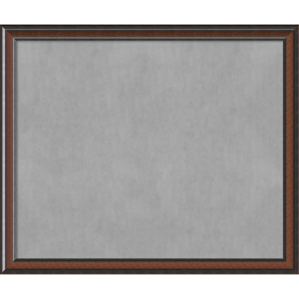 Framed Magnetic Board Choose Your Custom Size, Cyprus Walnut Wood ...