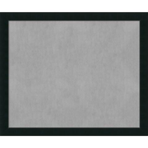 Framed Magnetic Board Choose Your Custom Size, Corvino Black Wood