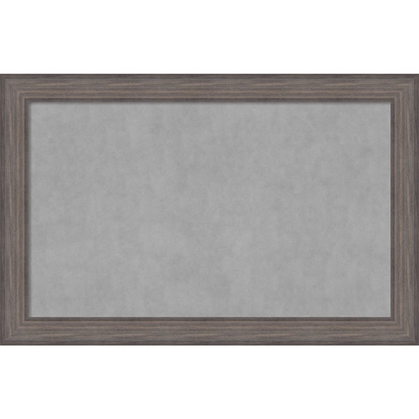 Framed Magnetic Board Choose Your Custom Size, Country Barnwood Wood