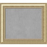 Framed Magnetic Board Choose Your Custom Size, Astoria Champagne Wood