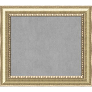 Framed Magnetic Board Choose Your Custom Size, Astoria Champagne Wood (More options available)