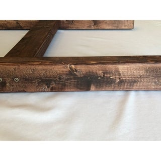 Solid Wood 6 ft. Handmade Decorative Ladder Rack