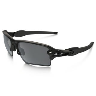 Oakley Black Men's Flak2.0 XL Polarized Sunglasses