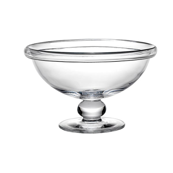 Reed And Barton Blair Clear Gl 12 25 Inch Pedestal Bowl