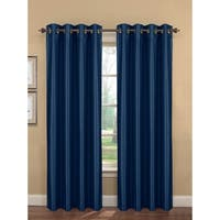 Window Elements Kim 96-inch Extra Wide Grommet Curtain Panel (Set of 2) - 54 x 96