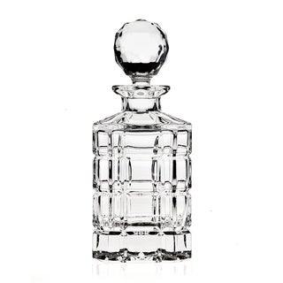 Plaid 25-ounce Whiskey Decanter