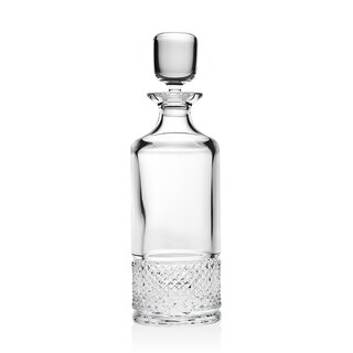 Silhouette Crystal Whiskey Decanter