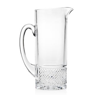 Silhouette Crystal Pitcher with Stirrer