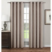 Window Elements Stockholm 96-inch Printed Extra-wide Grommet Curtain Panel Pair - 52 x 96