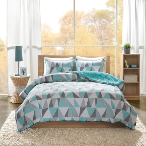 Intelligent Design Haley Printed Reversible Comforter Mini Set 2-Color Option