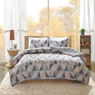 Intelligent Design Haley Printed Reversible 3-piece Comforter Set