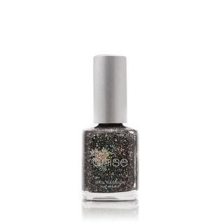 Anise Nail Polish Black Glitter