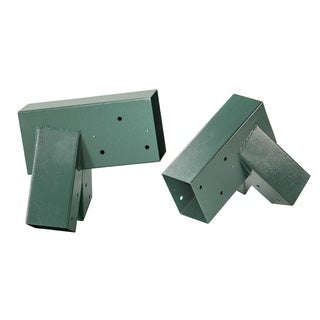 Swingan Green Metal Powder-coated A-frame Bracket (Set of 2)