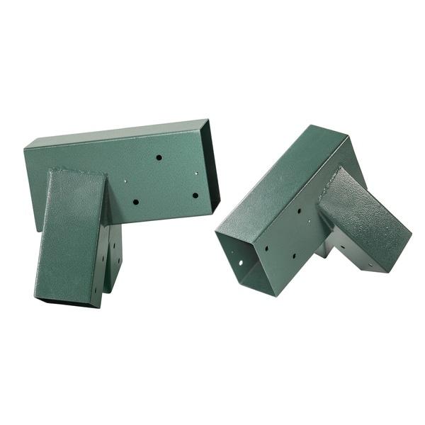 Swingan Green Metal Powder-coated A-frame Bracket (Set of 2)