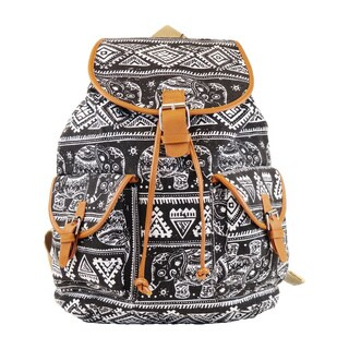 Hearty Trendy Tribal Print Backpack (2 options available)