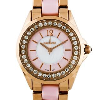 Charles Latour Voluta Ladies Pearlized Dial Watch
