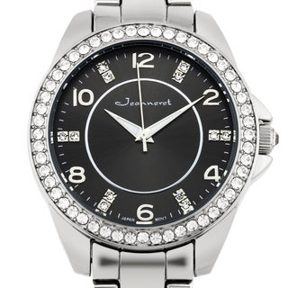 Jeanneret Rosetta Ladies Watch Crystal Encrusted Bezel