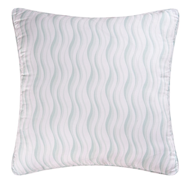 Wavy Stripe Cotton Euro Sham