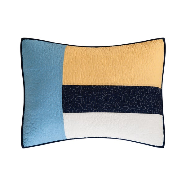 Channel Harbor Cotton Standard Sham