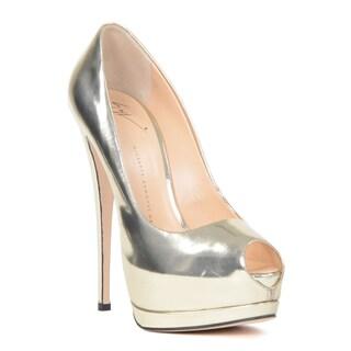 Giuseppe Zanotti Women's Pump Size 40.5 in Gold (As Is Item)