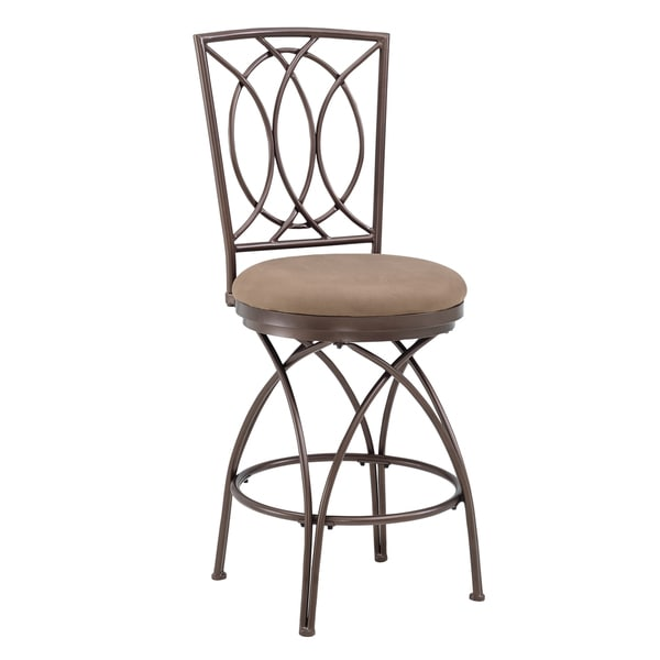 Shop Big And Tall Metal Crossed Legs Bar Stool Free