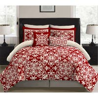 Stylenest Scarleta Red Bed in a Bag Bedding Set