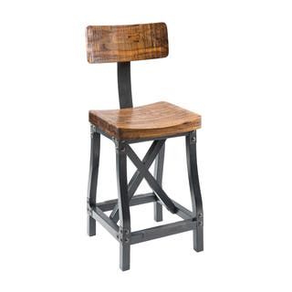 INK+IVY LancasterAmber/ Graphite Barstool with Back|https://ak1.ostkcdn.com/images/products/14155944/P20757378.jpg?impolicy=medium