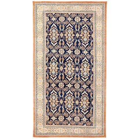 Handmade Vegetable Dye Oushak Wool Rug (Afghanistan) - 10'7 x 20'3
