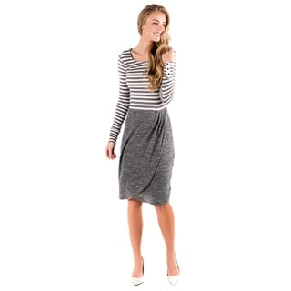 DownEast Basics Women's Stripe Harmony Dress