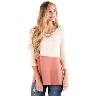 DownEast Basics Women's Step into Spring Top
