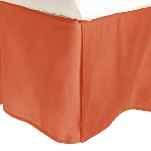 Miranda Haus300 Thread Count Combed Cotton 15-inch Drop Bedskirt
