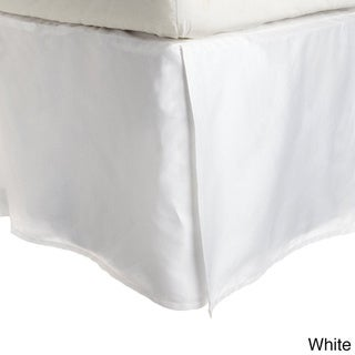Superior 300 Thread Count Combed Cotton 15-inch Drop Bedskirt