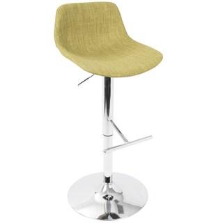 Tazza Contemporary Adjustable Barstool