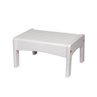Levels of Discovery White Slatted Step Stool